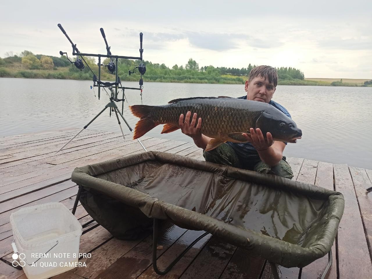 Отчет о рыбалке: Водоём #117457525 — Свердловский район — Центральный федеральный округ, Орловская область
