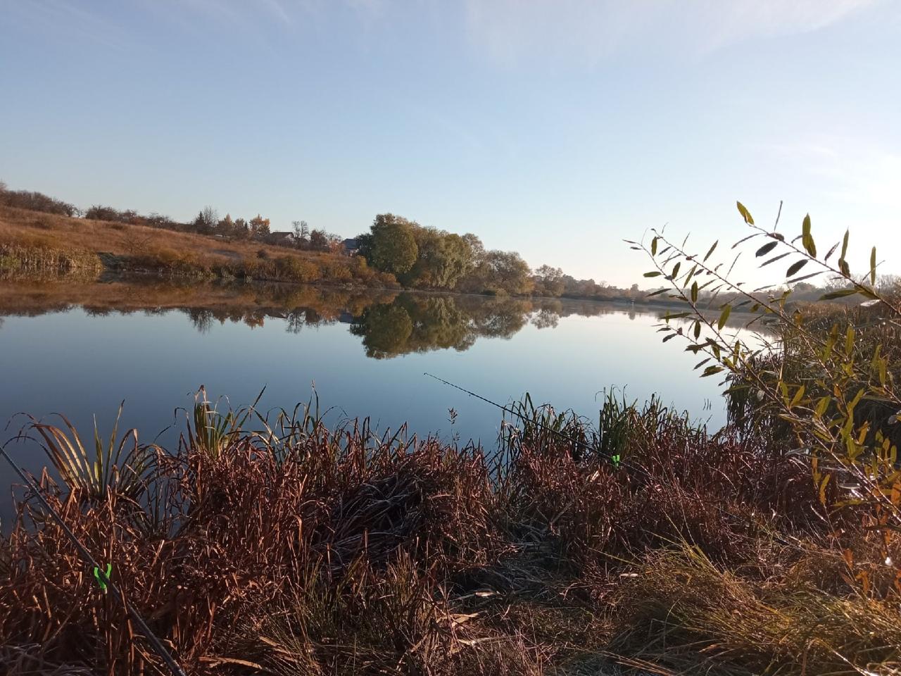 Отчет о рыбалке: Река Кирюкин — Свердловский район — Центральный федеральный округ, Орловская область