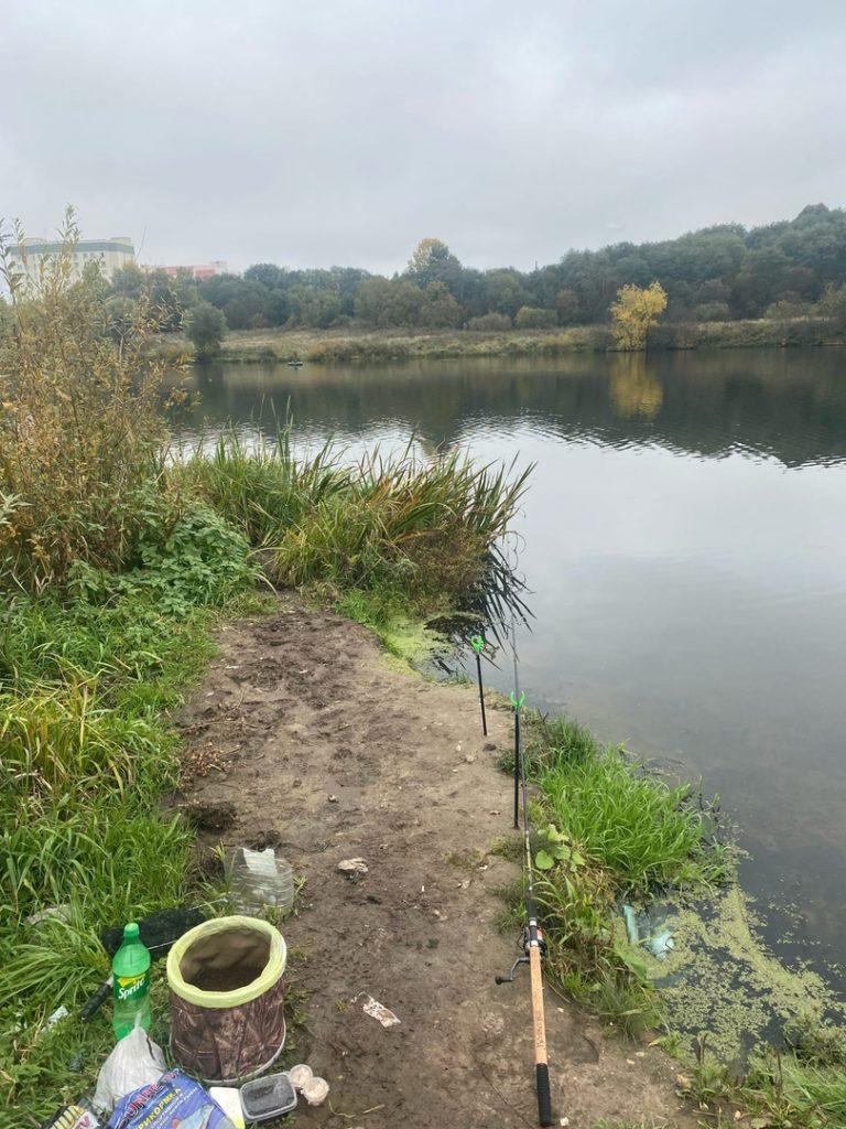 Отчет о рыбалке: Река Сестра — городской округ Клин — Клин — Центральный федеральный округ, Московская область
